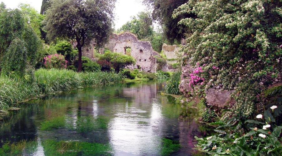 Giardino di ninfa il pi bello e romantico al mondo - Il giardino di ninfa ...