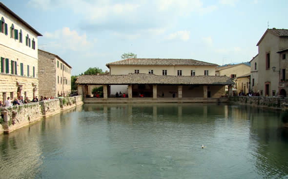 Toscana terme di bagno vignoni
