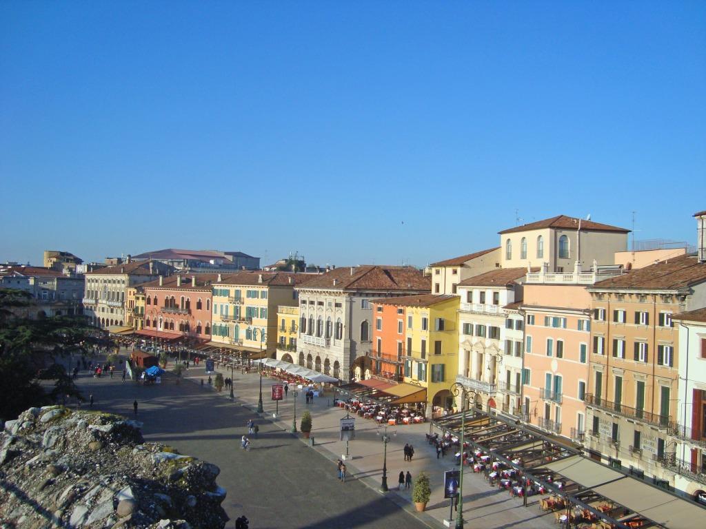 Verona: dal Duomo a Piazza Brà
