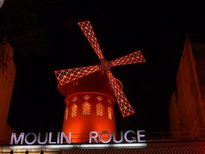 Parigi - moulin rouge