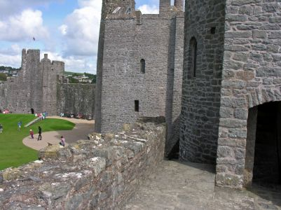 Pembroke Castle Wales UK