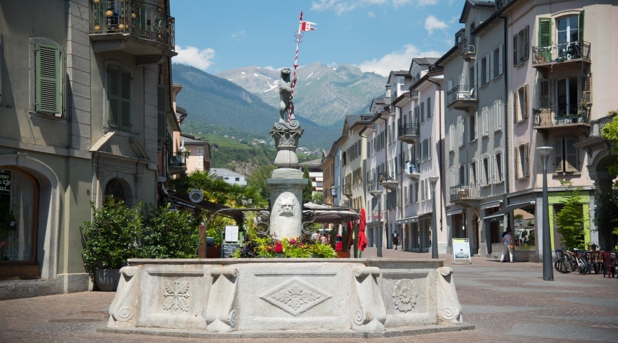 Canton Vallese - Sion